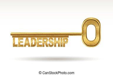 zlatý, vůdcovství, -, klapka