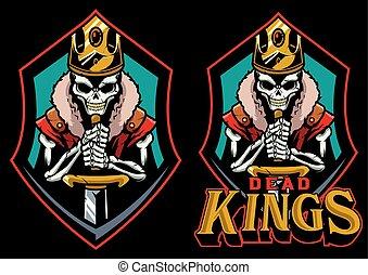 zmarły, królowie, maskotka
