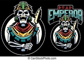 zmarły, maskotka, cesarz