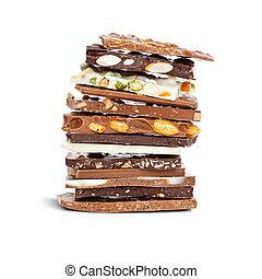 zmieszać, czekolada