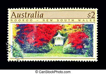 znaczek pocztowy, australijski