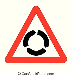 znak, handel, odizolowany, karuzela