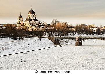 Znamenskaya Church in Vilnius