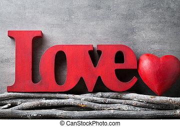 znejmilejší den, grafické pozadí, s, hearts.