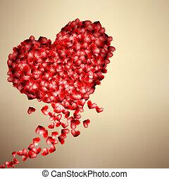 znejmilejší den, s, hearts., +, eps10