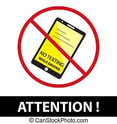 znowu, texting, sign.eps10, napędowy, nie