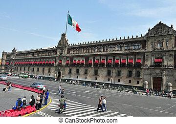 zocolo, 中に, メキシコシティ