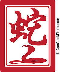 zodiac., κινέζα