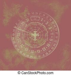 zodiac, abstract