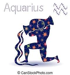 zodiac, aftekenmal, waterman, meldingsbord