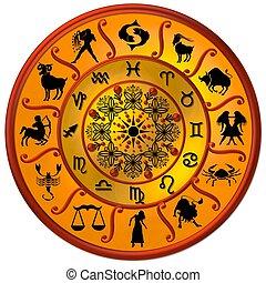 zodiac disc