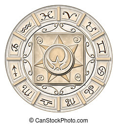 Zodiac - Illustrated zodiac