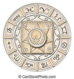 Zodiac - Illustrated zodiac