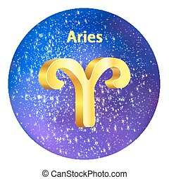 zodiac, ram, hemel, meldingsbord