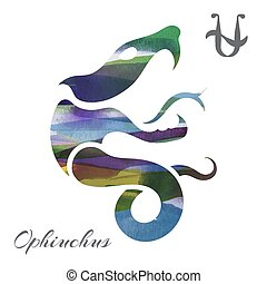 Zodiac sign Ophiuchus