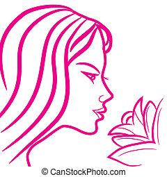 Zodiac sign - Virgo - Zodiac sign Virgo logo, icon sketch...