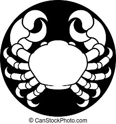 Zodiac Signs Cancer Crab