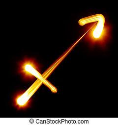 Zodiac signs collection - Sagittarius. Zodiac signs...