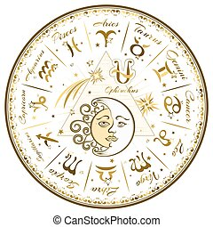 Zodiac signs, horoscope
