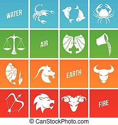 zodiac, stertekens