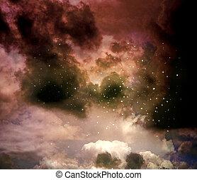 zodiacal, 星云, 星座, 射手