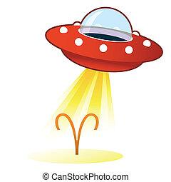zodiaco, ariete, bottone, ufo