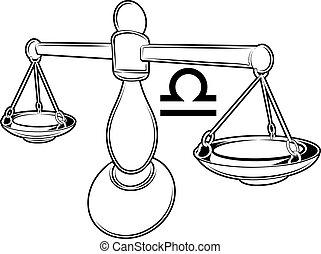 zodiaco, bilancia, segno, oroscopo, astrologia
