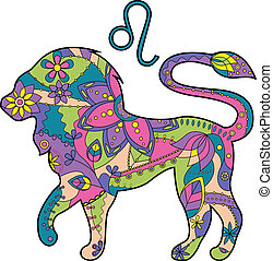 zodiak, lew, znak