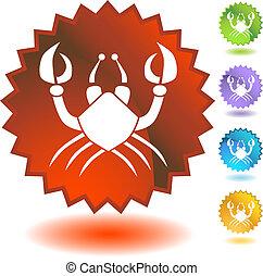 zodiaken, emblem, cancer