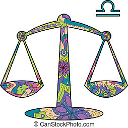 zodiaque, balance, signe