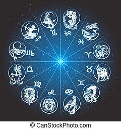 zodiaque, cercle