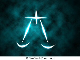 zodiaque, signe, balances