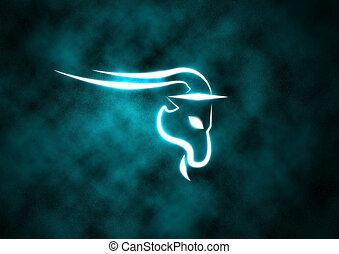zodiaque, signe, chèvre