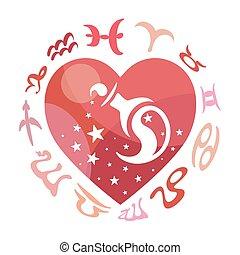 zodiaque, verseau, signe