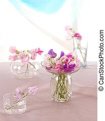 zoet, bloem, erwtjes