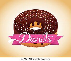 zoet, donuts