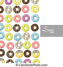 zoet, helder, donuts