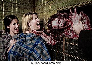 zombi, attaque