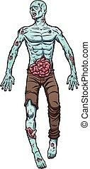 zombi, dessin animé