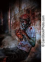 zombi, fâché