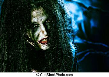 zombi, regard