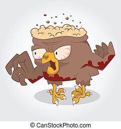Zombie bird