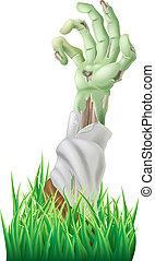 zombie, braccio