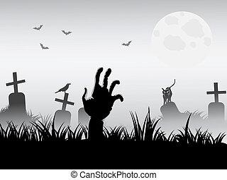 zombie, budzenie