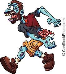 zombie, cartone animato