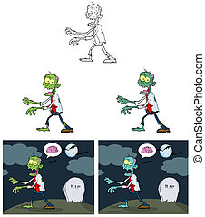 Zombie Cartoon Characters