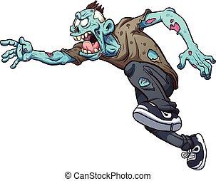 zombie, correndo