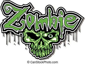 zombie, disegno