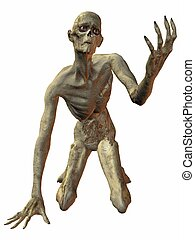 Zombie - 3 D Render of an Zombie