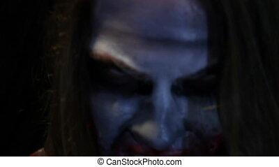 zombie, filmmeter, ohne, effekte